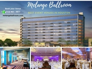 Baby Shower Venues Houston TX - Melange Ballroom