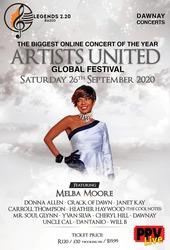 Melba Moore -Artists United Global Festival Broadcast Concert