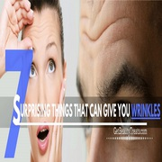 7 Surprising Things That Can Give You Wrinkle