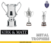 KIRK AND MATZ Metal Trophies   Glass And Crystal Awards